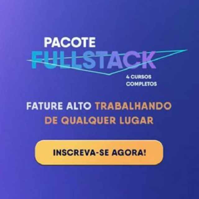 Foto 1 - Pacote full stack